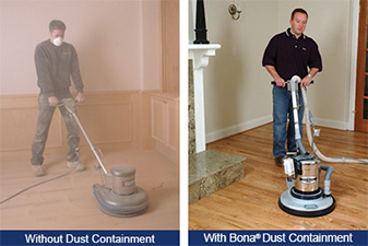 Abbey Carpet & Floor uses Bona Dust Containment systems for our hardwood refinishing projects!  Click here to learn more!